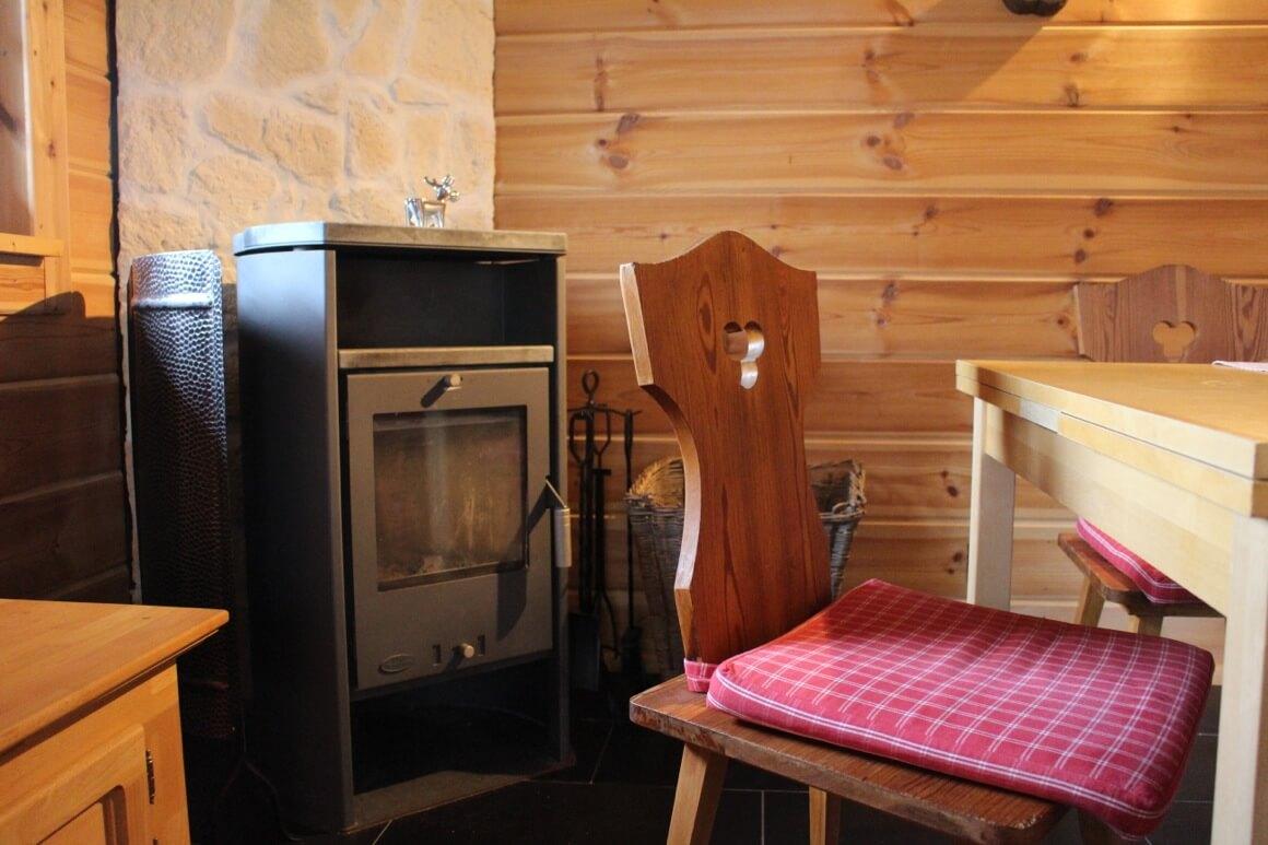 beerenh tte holzhaus mit kamin pension schanzenblick oberwiesenthal. Black Bedroom Furniture Sets. Home Design Ideas